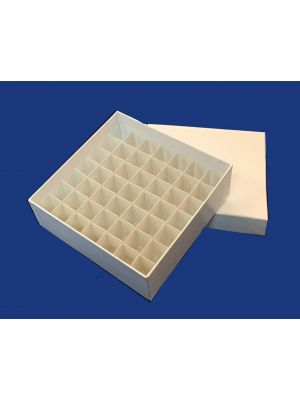 50mm High Cardboard Box with cell dividers